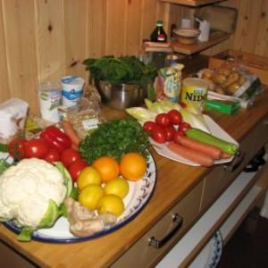 De biologische groenten halen bij de buren (De Stek)
