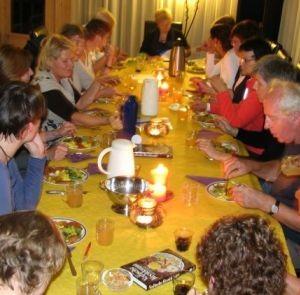 Samen genieten van een fantastische Vedische maaltijd!