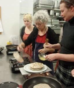 Chapati's bakken is spannend!
